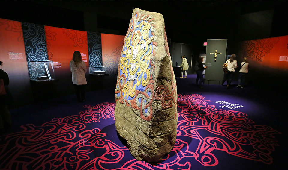 photo of the Viking Jelling Stone