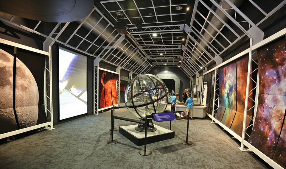 Visit the Space Exhibit at The Franklin Institute!