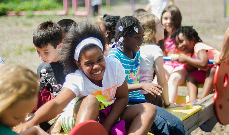 Kids playing at Discovery Camp