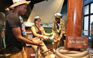 Island Escape Room at The Franklin Institute