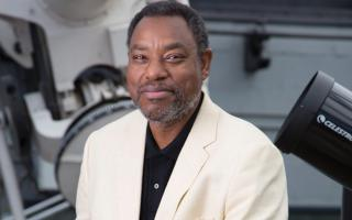 Headshot of the Franklin Institute's Chief Astronomer Derrick Pitts.