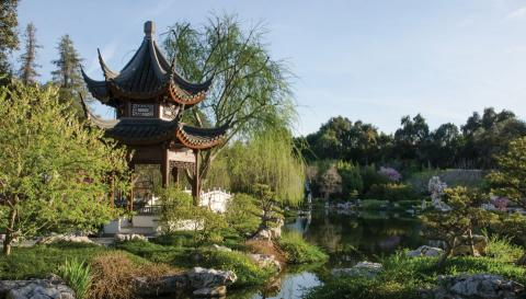 Chinese Garden Pavilion at the Huntington Library