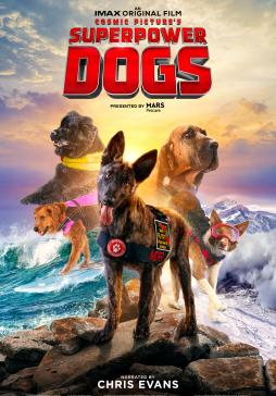 Movie Poster for the Superpower Dogs IMAX movie